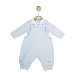 MB4647A | Top & Dungaree - Blue