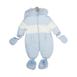 MB4705A | Snowsuit - Blue/White