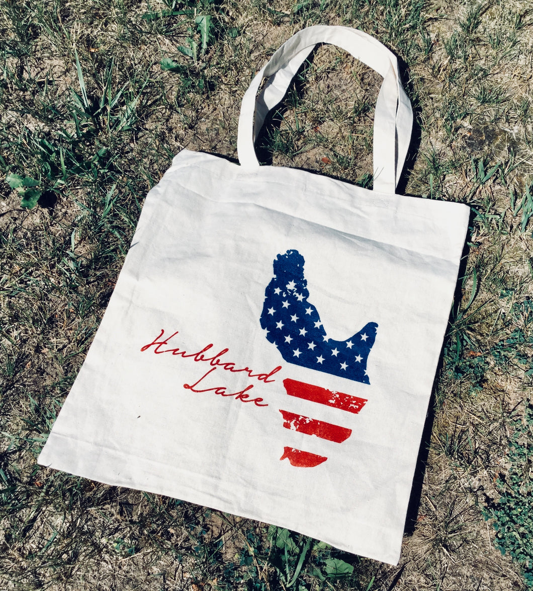 Hubbard Lake flag TOTE