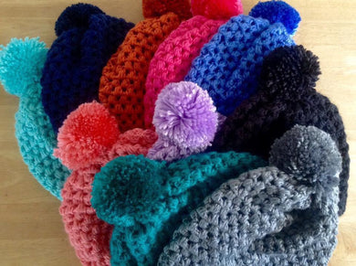Slouchy hats