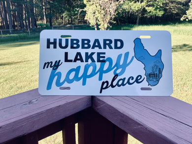 HAPPY PLACE license plate