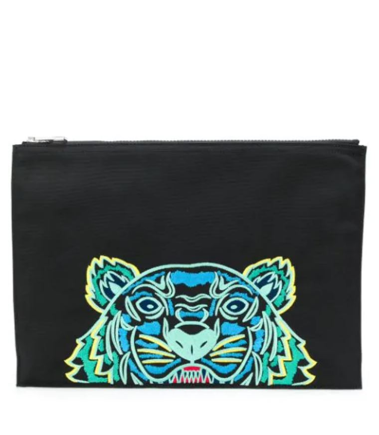 Clutch Tiger con logo