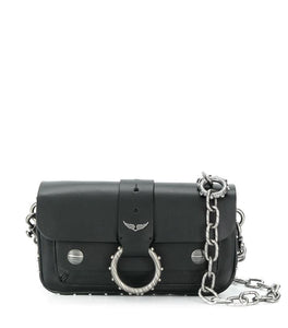 Borsa Kate mini di colore nero in pelle
