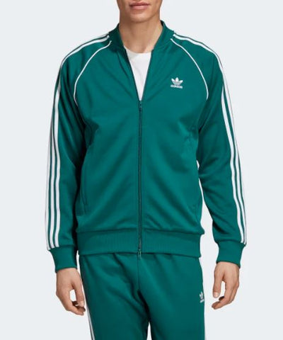 TRACK JACKET SST CON PIPING A CONTRASTO E ZIP TWO-WAY