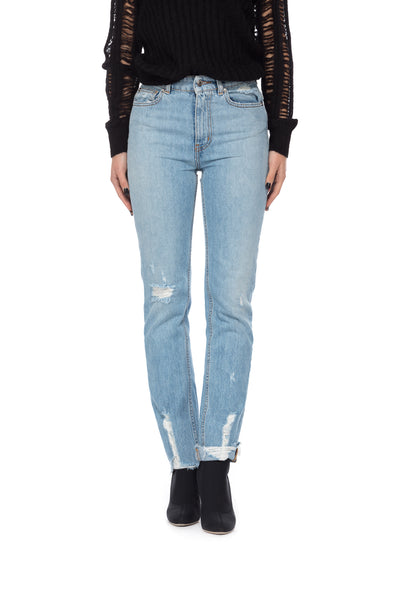 Jeans regular fit a vita alta