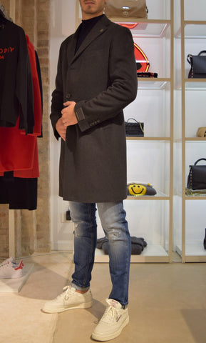 Cappotto monopetto Grey