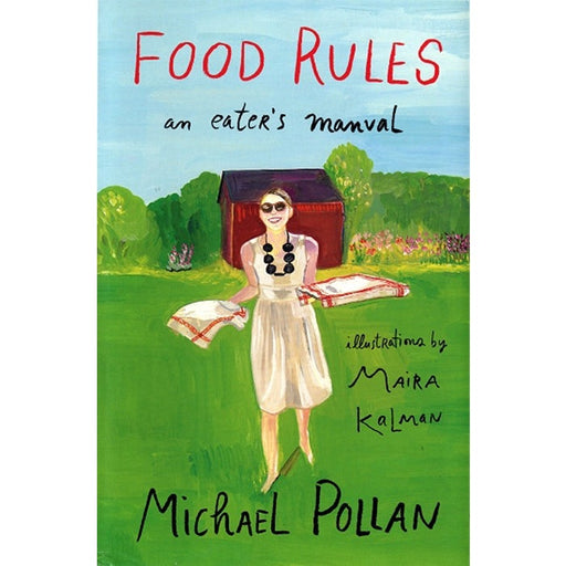 Food Rules an eater's manual book cover