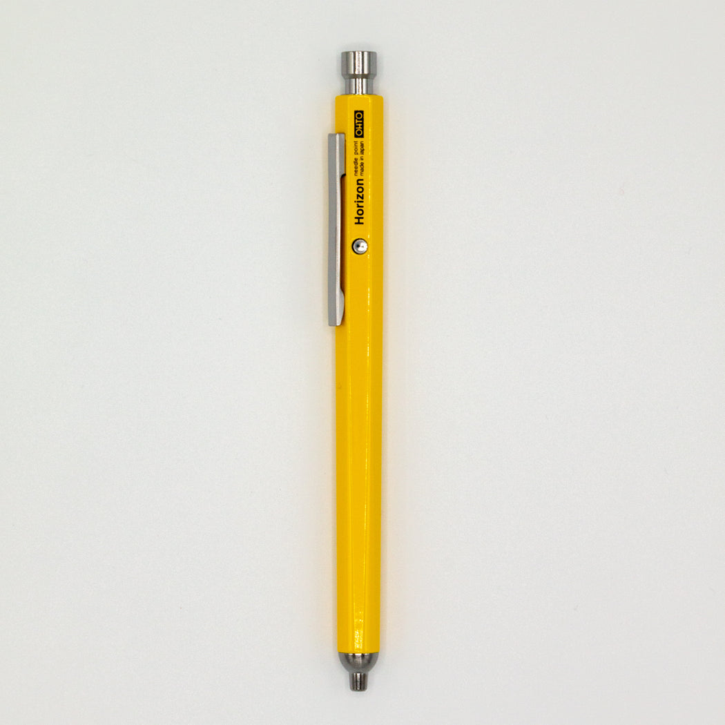 Yellow Needle Point Pen
