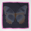 Butterfly silk square