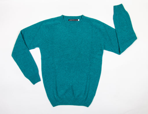 Caith Merino and Cashmere Crewneck Sweater