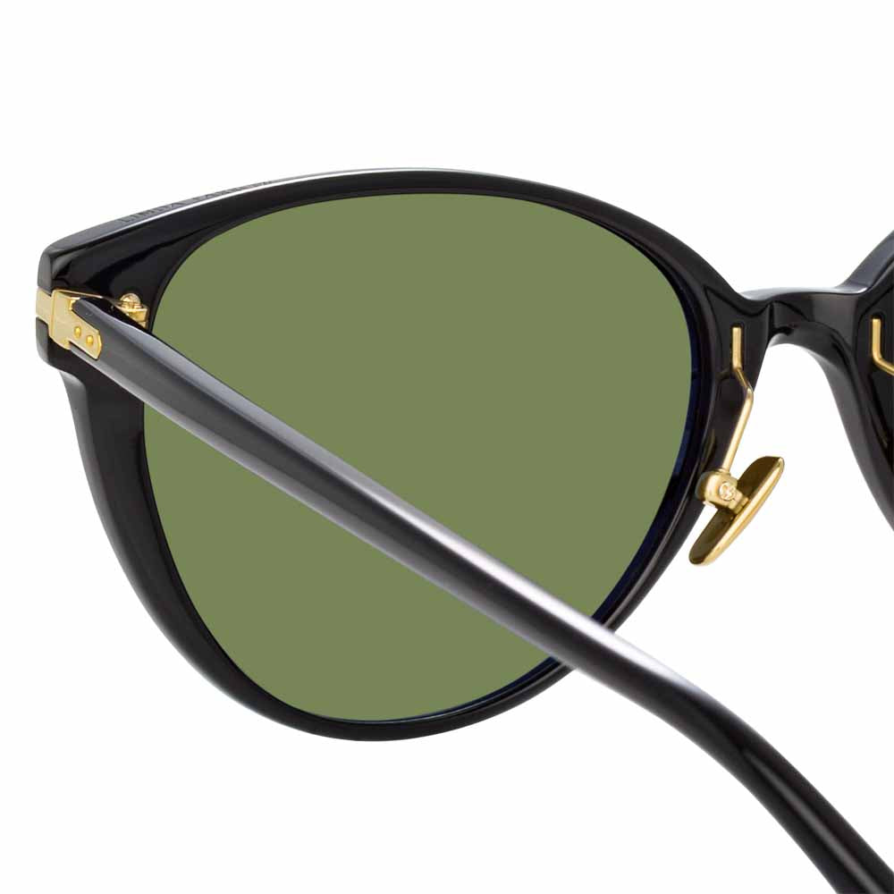 Arch Cat Eye Sunglasses by Linda Farrow