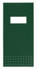 Green Hanji notebooks with silk screened covers