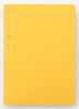 yellow cover notebook planner