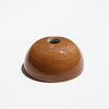 Brown Hemisphere Magnetic Ceramic Paperweight