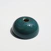 Dark Green Hemisphere Magnetic Ceramic Paperweight
