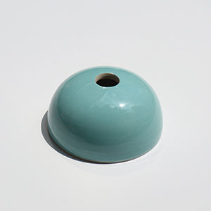 Baby Blue Hemisphere Magnetic Ceramic Paperweight