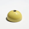 Yellow Hemisphere Magnetic Ceramic Paperweight