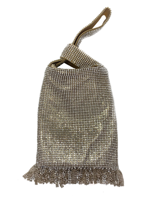 Slouch evening bag.