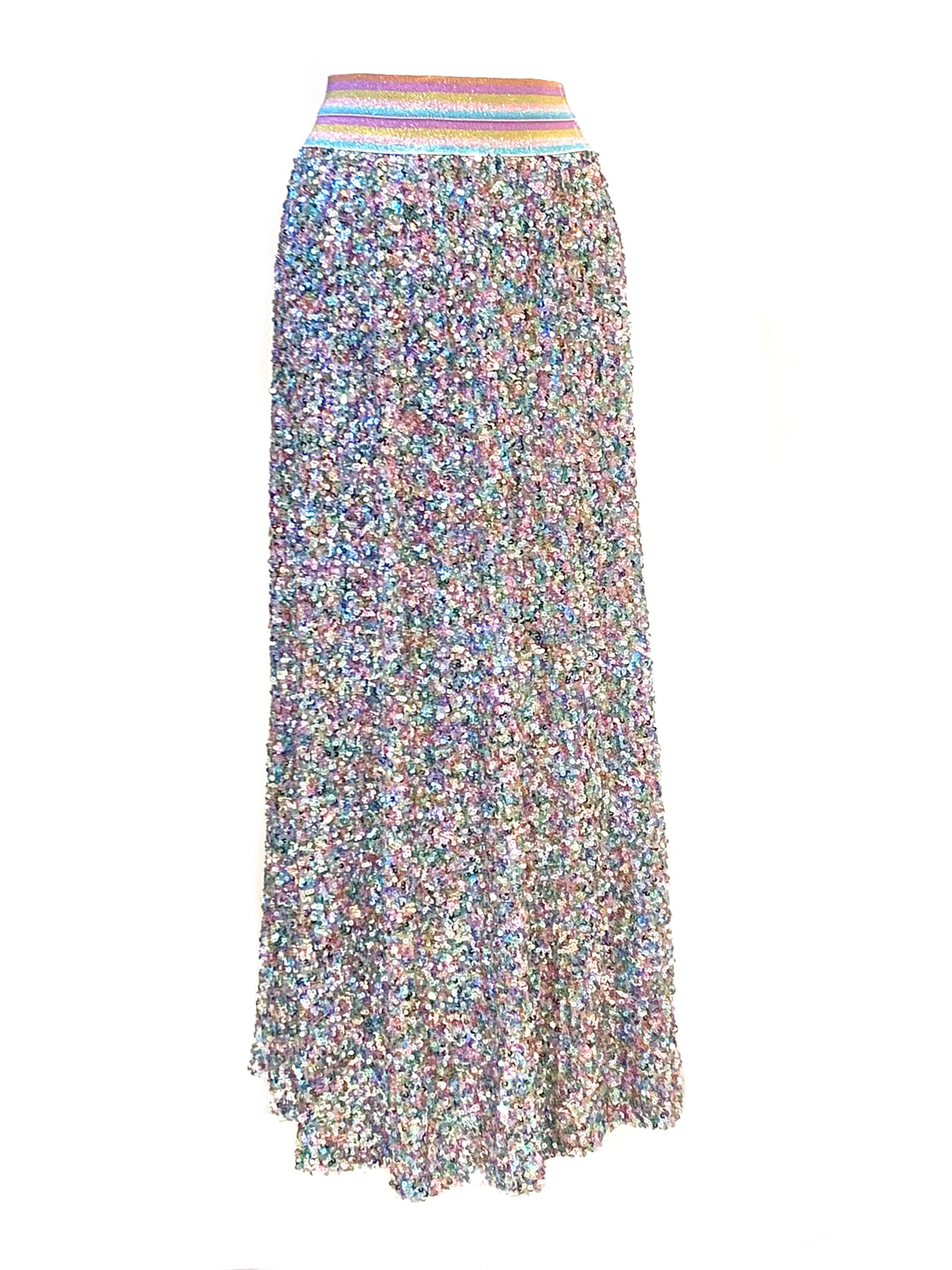Sequin long skirt