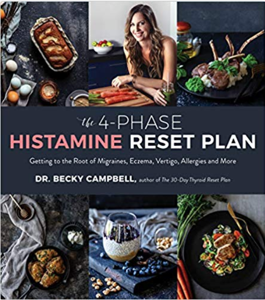 The 4 Phase Histamine Reset Plan - Book