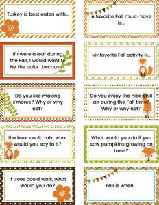 50 Fall Journal Prompts