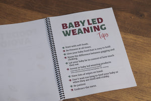 Baby Led Weaning Planner