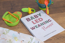 Load image into Gallery viewer, Baby Led Weaning Planner