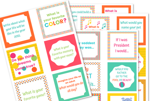 48 Journal Prompts For Kids