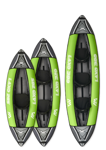 Aqua Marina LAXO Heavy-Duty Kayak Series - 3 Sizes
