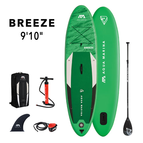 "Aqua Marina Breeze All Around 9""10"" Inflatable SUP"