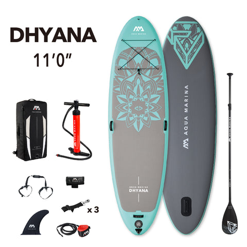 Aqua Marina Dhyana inflatable yoga sup package