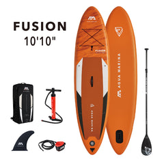 "Aqua Marina Fusion All Around 10'10"" Inflatable SUP"