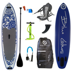 "Anahola Board Co. Blue Lotus 10'6"" All-Around Inflatable SUP"