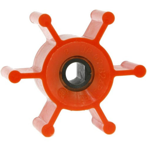 Johnson Ultra Ballast Premium Impeller Orange (09-824P-1EZ) - BoatToys.ca