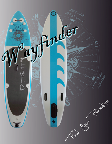 Anahola Board Co. Wayfinder 11' Touring Inflatable SUP