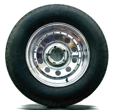 Chrome Tire & Rim Packages - BoatToys.ca