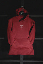 CHOOSE TO STAY - HOODIE (BURGUNDY)