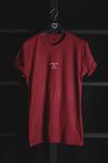 CHOOSE TO STAY - T-SHIRT (BURGUNDY)
