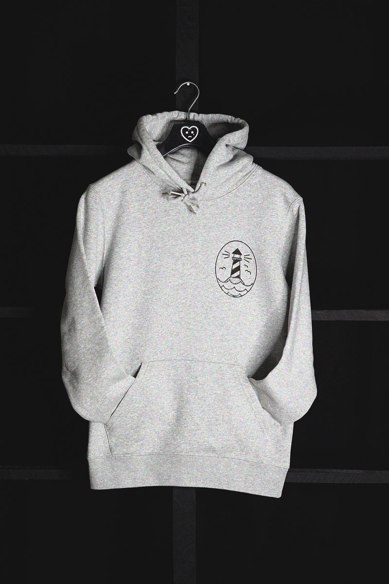 THERE IS HOPE - HOODIE (HEATHER GREY)