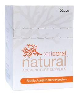 Red Coral Natural Acupuncture Needles