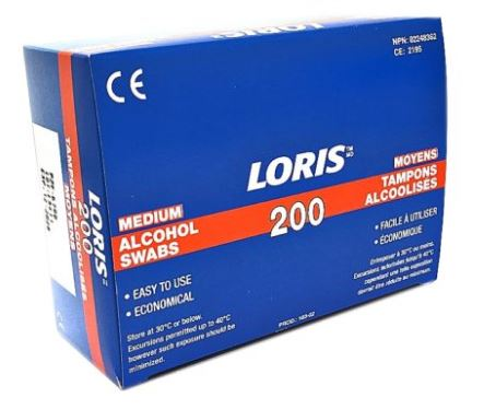 Loris Alcohol Prep Pads