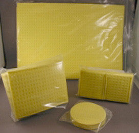 CMP Electrode Sponge Pockets and Pads