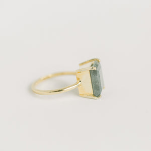 Kyle Gold Ring | Labradorite