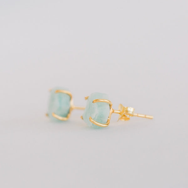Atlas Studs | Amazonite - elliparr