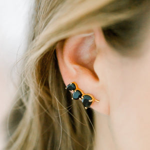 Crawler Earrings | Labradorite - elliparr