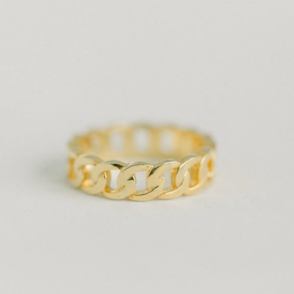 Gold Braided Ring - elliparr