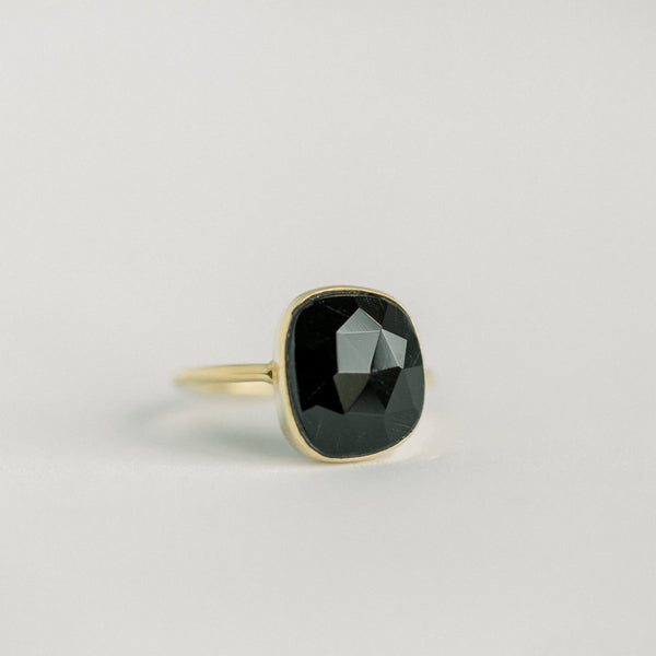 Hannah Freeform Ring | Black Onyx - elliparr