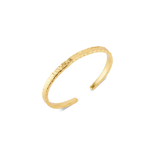 Harbor Gold Hammered Cuff - elliparr