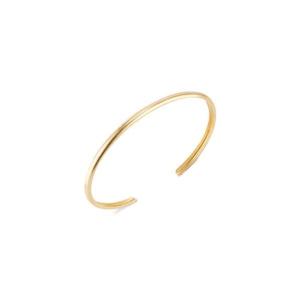 Jessica Gold Bangle - elliparr