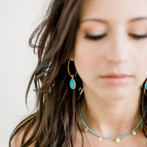 Simone Marquis Earrings | Labradorite - elliparr